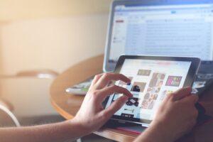 Forbruget flyttes online